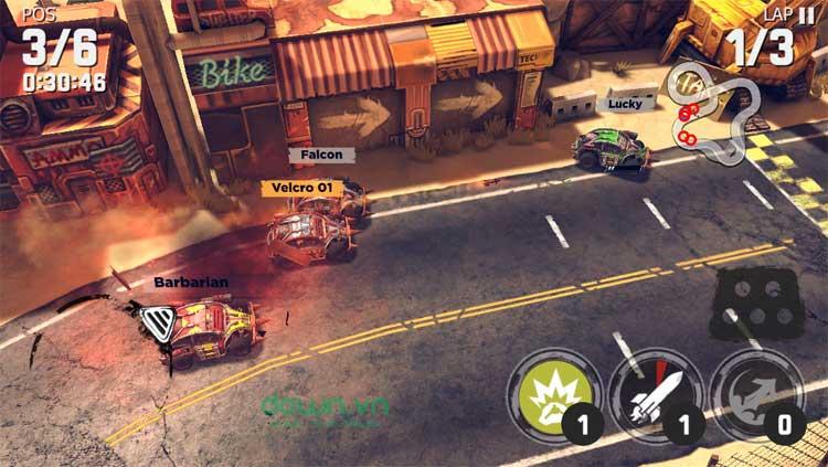Game tốc độ trên iPhone