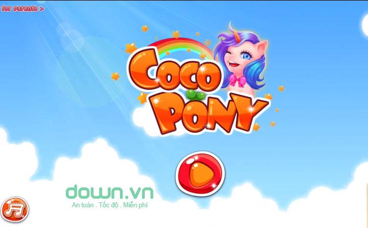 Game chăm sóc Pony
