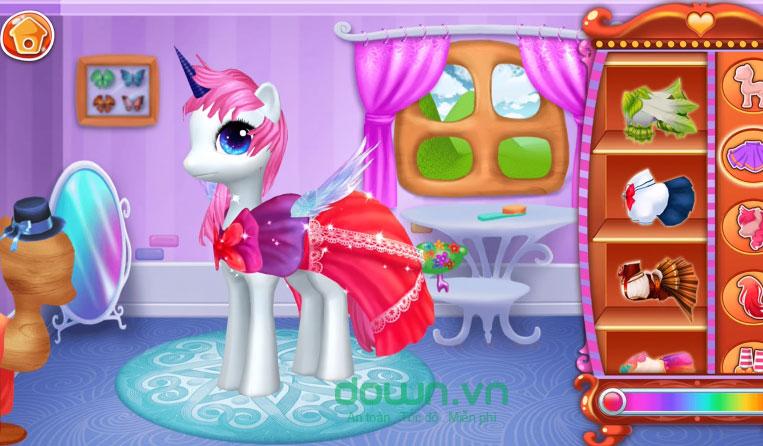 Thay đổi phong cách khác nhau cho Pony