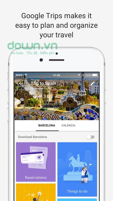Ứng dụng du lịch trên iPhone