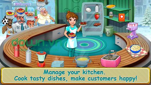 Game nấu ăn trên iPhone