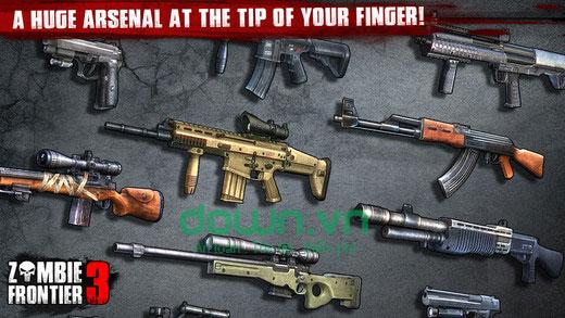 Kho vũ khí đa dạng
