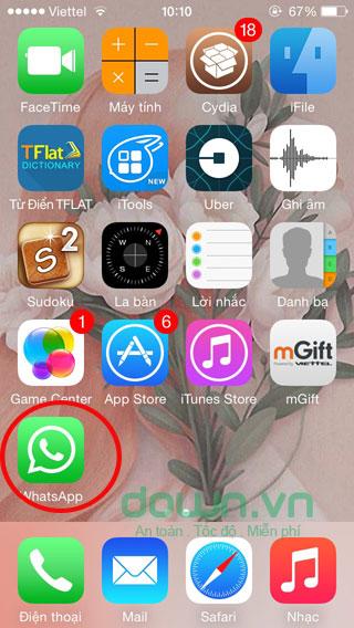 WhatsApp di động