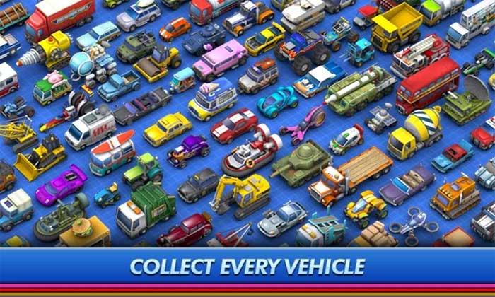 Bộ sưu tập xe đa dạng