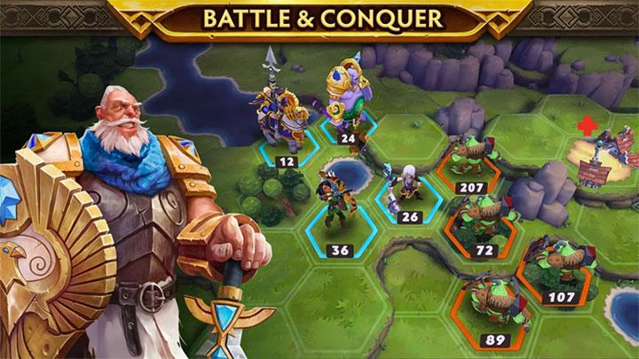 Game chiến thuật trên iPhone/iPad