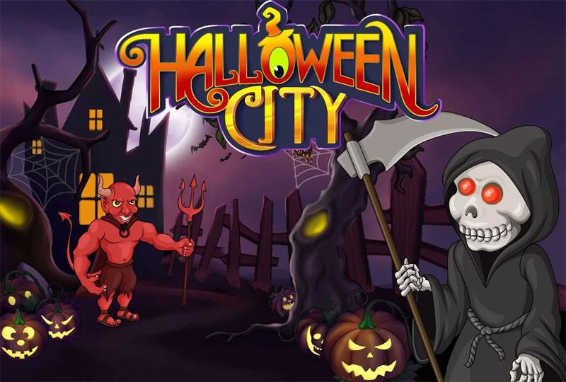 Game thành phố Halloween