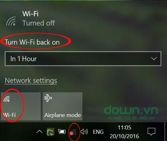 Hẹn giờ bật Wifi theo ý muốn