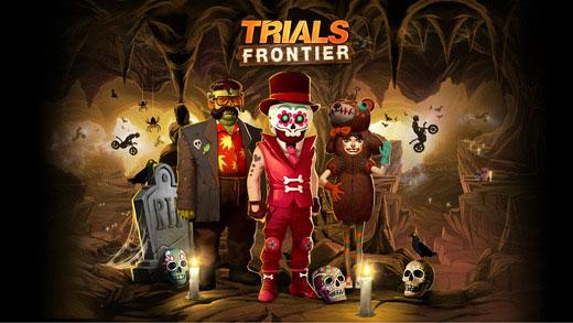 Phiên bản Halloween game Trials Frontier