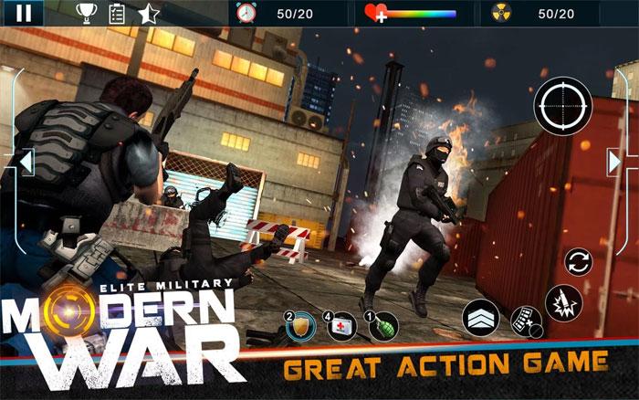 Game chiến tranh quân sự