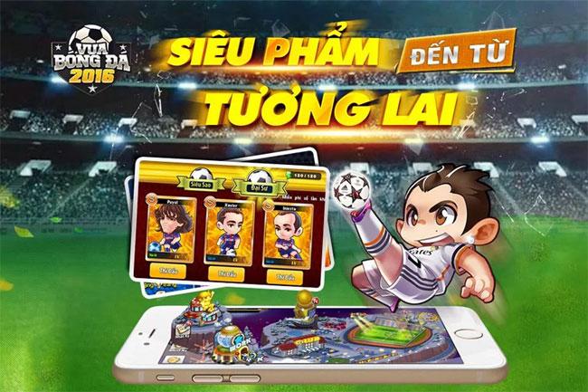 Game bóng đá trên mobile