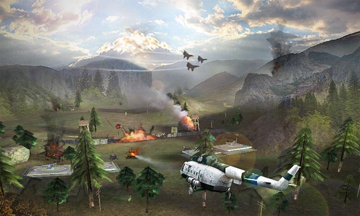 Game chiến tranh không kích
