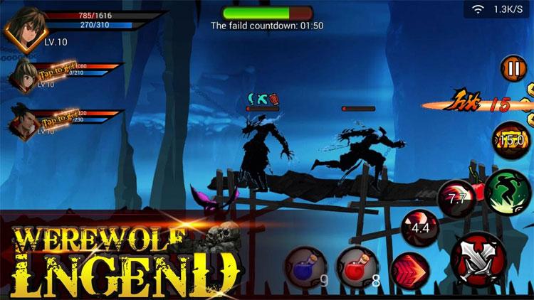 Game truyền thuyết sói thần