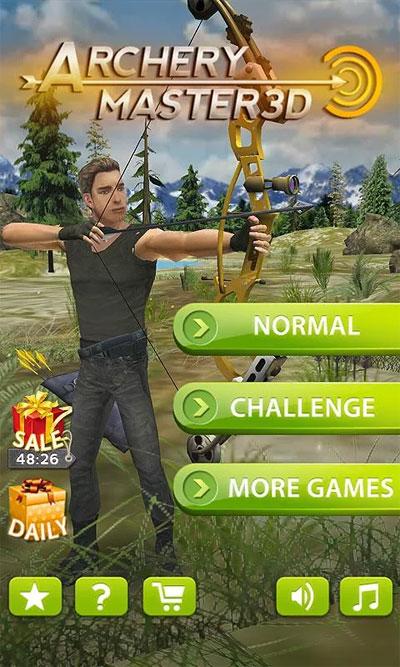 Game bắn cung trên android