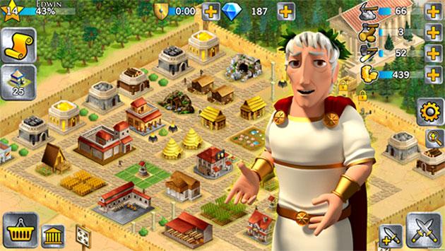 Game xây dựng đế chế La Mã