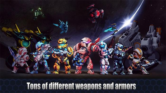 Tập hợp những người máy anh hùng