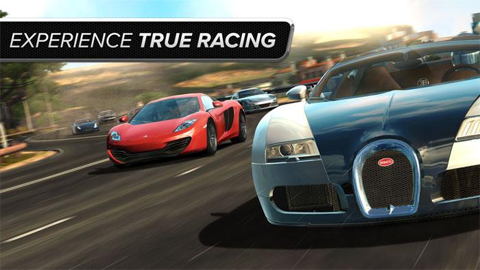 Game đua xe siêu thực