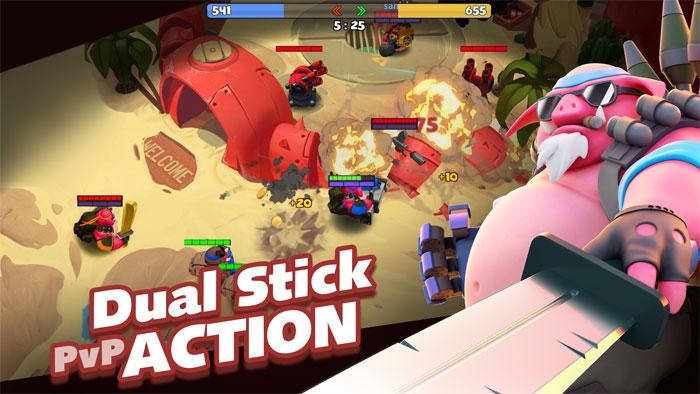Game MOBA kết hợp bắn súng