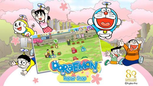 Game tiệm sửa đồ của Doraemon