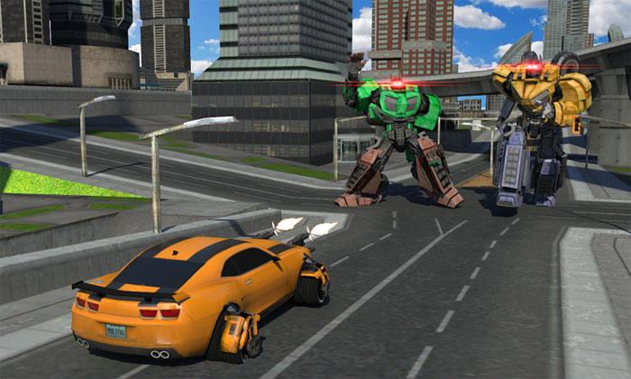 Game cuộc chiến robot