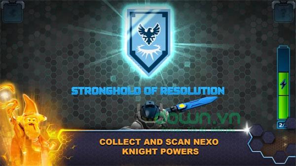 Thử thách trong game LEGO Nexo Knights: Merlok 2.0