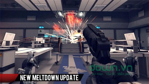 Sân chơi game Modern Combat 4: Zero Hour trên Android