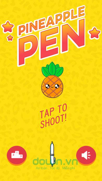 Game ném bút vui nhộn ăn theo MV PPAP Pen Pineapple Pen Apple Pen