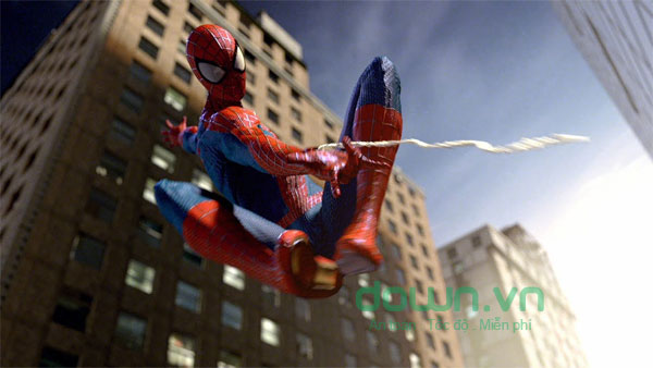 Giao diện chơi game The Amazing Spider-Man 2
