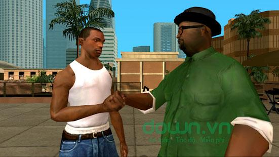 Các nhân vật trong game Grand Theft Auto: San Andreas