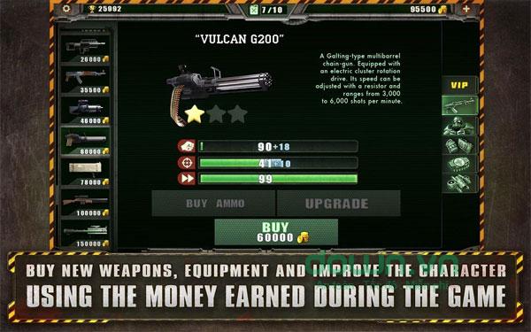 Hệ thống vũ khí đa dạng cho game thủ thỏa sức lựa chọn và nâng cấp
