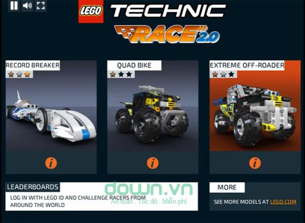 Lựa chọn xe đua