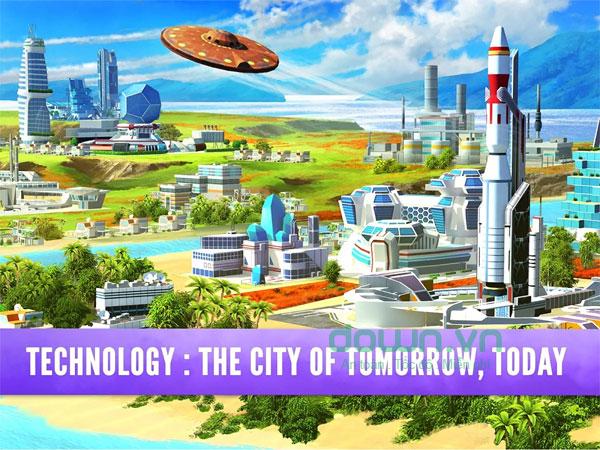 Xây dựng thành phố trở thành một thiên đường trong mơ