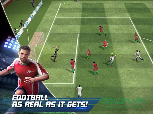Game quản lý bóng đá chân thực Real Football
