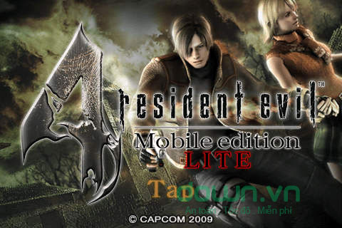 Game bắn súng kinh điển Resident Evil 4