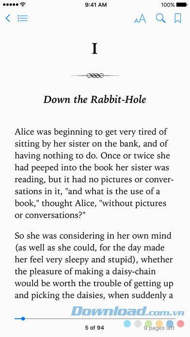 Đọc eBook trên iBooks
