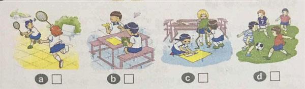 Đề kiểm tra tiếng Anh lớp 4 học kỳ 1 số 1