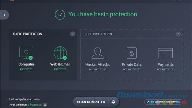 Diệt virus miễn phí với AVG Free Antivirus 2017