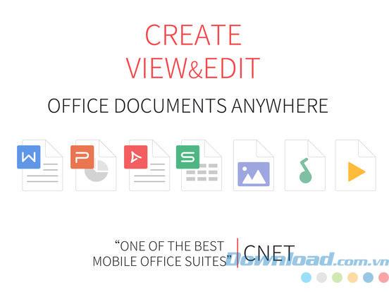 Ứng dụng văn phòng miễn phí WPS Office
