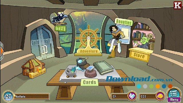 Mua thêm các thẻ bài mới hoặc thêm hoạt động mới trong Shop
