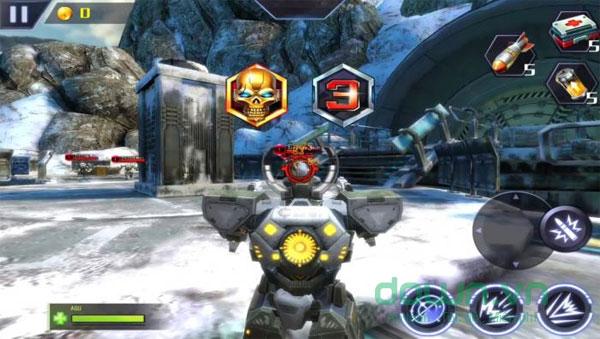 Lựa chọn chủng robot với kỹ năng chiến đấu đặc biệt