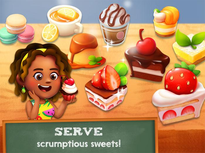 Game quản lý cửa hàng bánh ngọt
