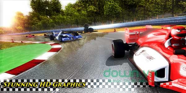 Giao diện đua xe ấn tượng