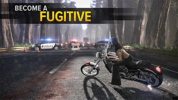 Chạy trốn khỏi sự truy đuổi của cảnh sát