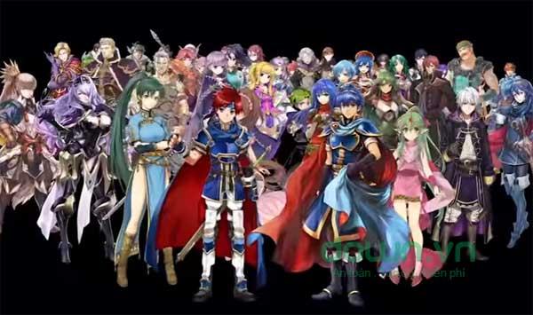 Các nhân vật xuất hiện trong game