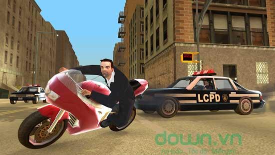 Đồ họa sắc nét trong game GTA: Liberty City Stories