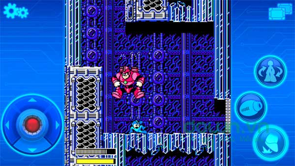 Nâng cấp Mega Man để tăng sức mạnh chiến đấu