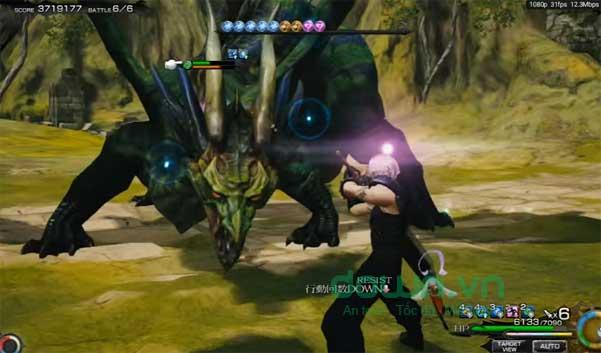 Chiến đấu với trùm quái