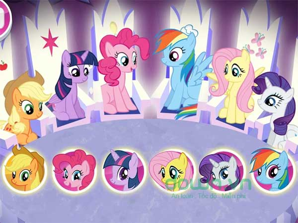 Gặp gỡ 6 chú ngựa con dễ thương trong phim My Little Pony