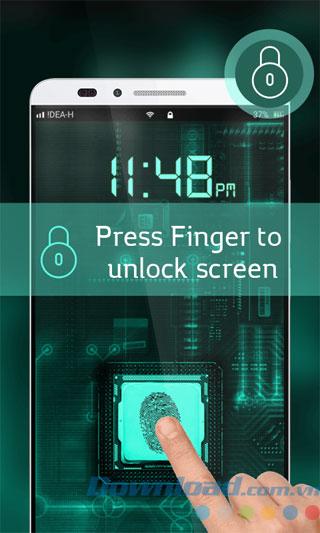 Giả vân tay để mở khóa Android