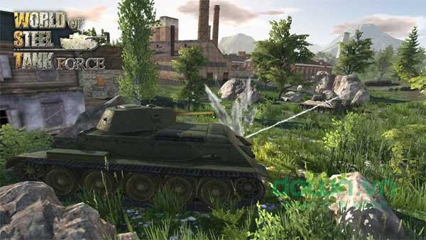 Tham gia chiến trường máu lửa với các loại xe tăng hầm hố