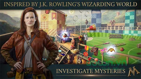 Điều tra những bí mật ẩn giấu trong thế giới phù thủy Fantastic Beasts: Cases